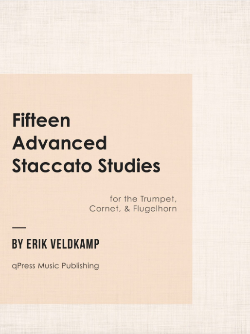 15 Advanced Staccato Studies