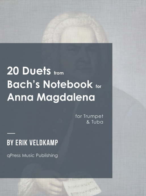 20 Duets Bach's notebook for Anna Magdalena