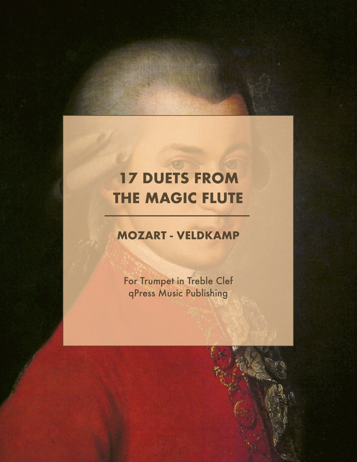 Mozart The Magic Flute Duets for Trumpet