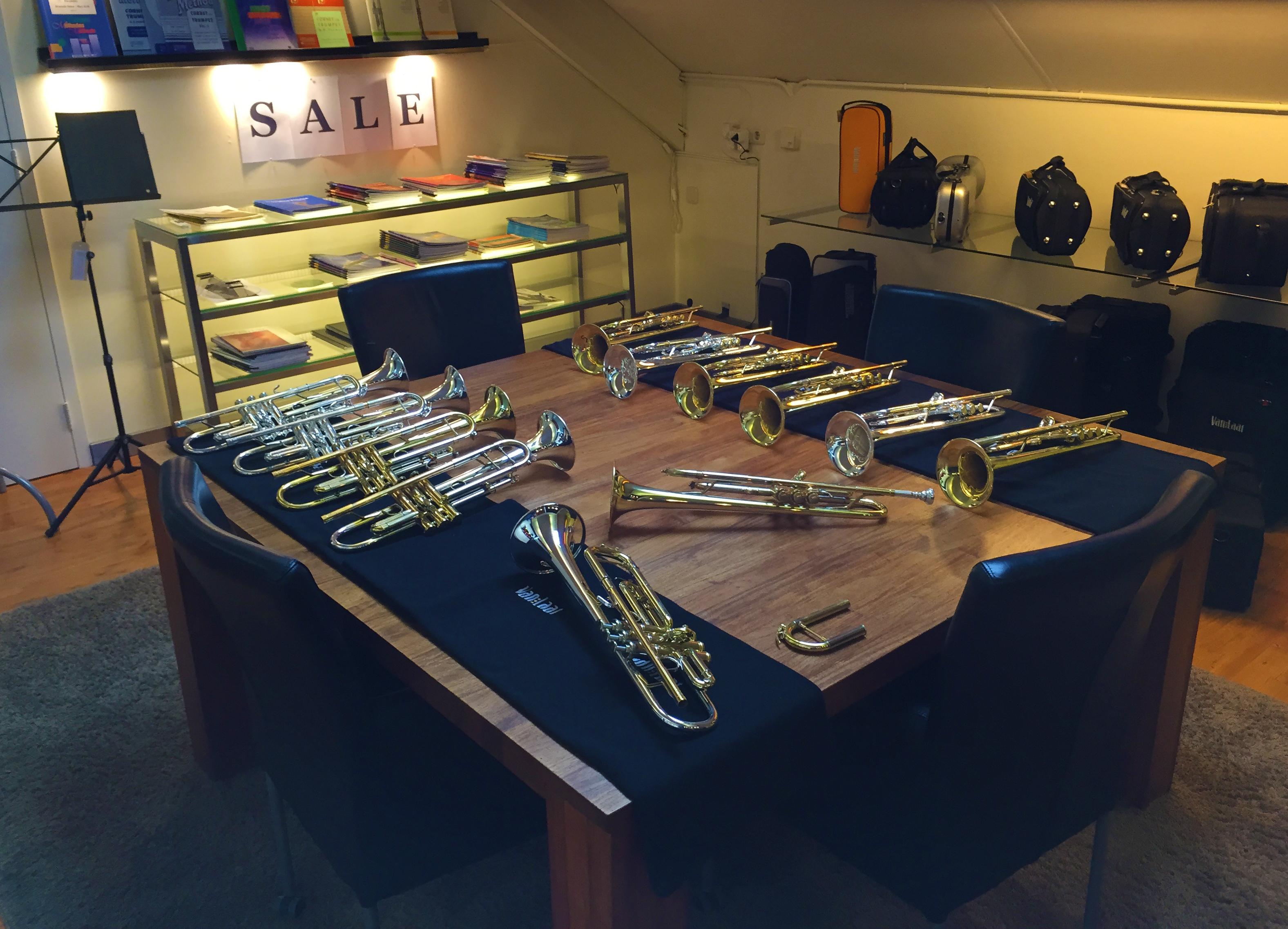 Hub van Laar shop visit