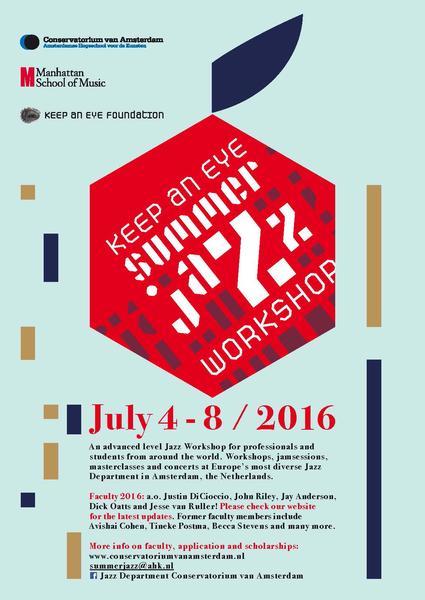 Summer Jazz Workshop 2016