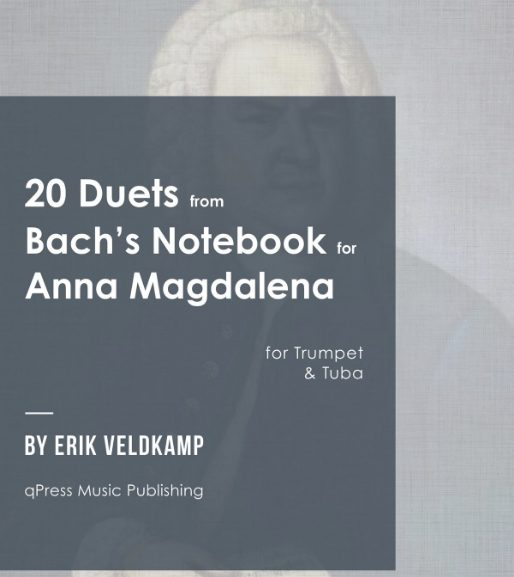 20 Duets from Bach's notebook for Anna Magdalena