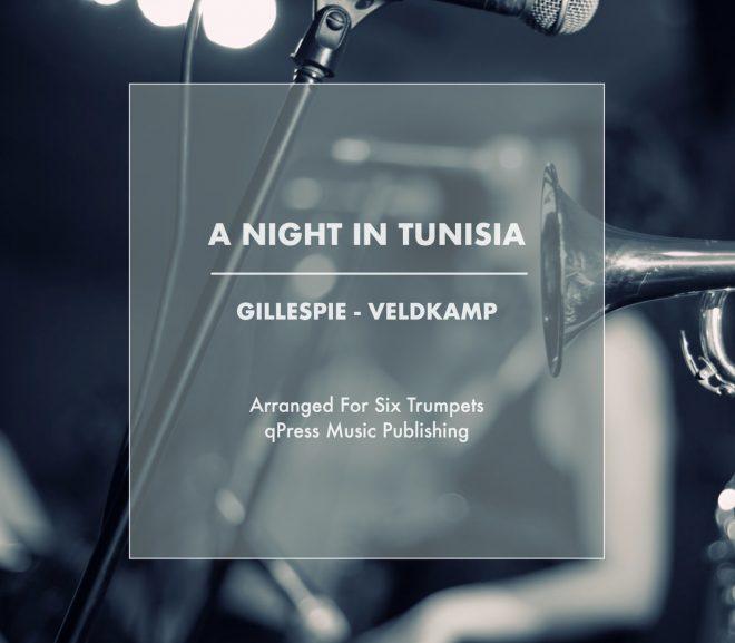A NIGHT IN TUNISIA FOR 6 TRUMPETS