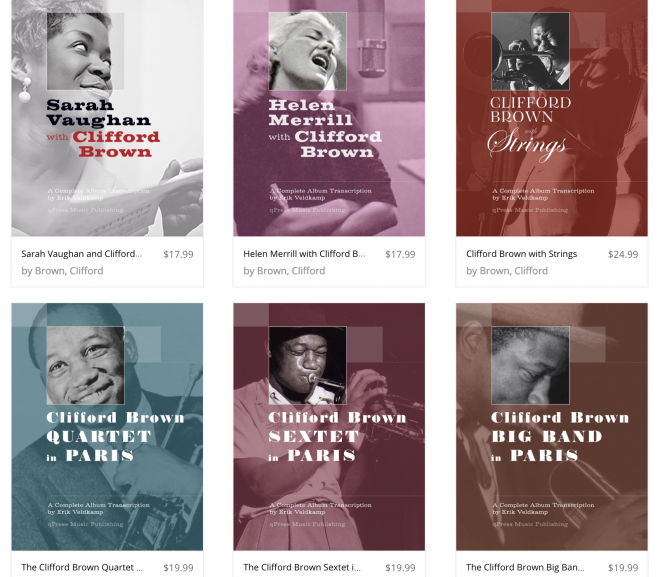 New Clifford Brown books