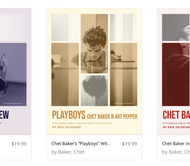 3 Chet Baker books released!