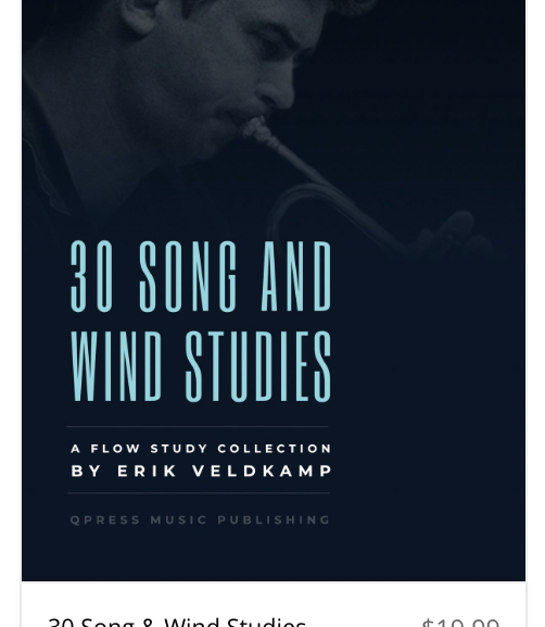 30 Song & Wind Studies released