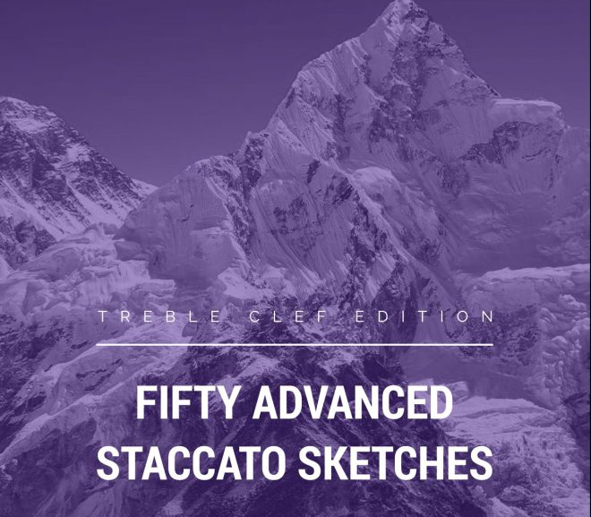 50 Advanced Staccato Sketches